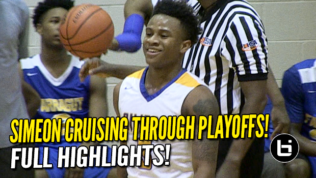 Simeon cruising through Chicago Public League Playoffs with Balanced Attack!
