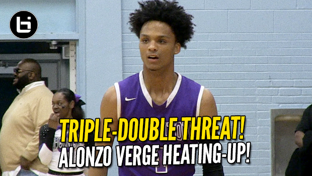 Alonzo Verge is a Triple-Double Threat! Electric PG Full Highlights!