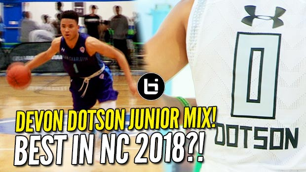 Is Devon Dotson the #HoopState's Next Best Point Guard?! Junior Year Mixtape!