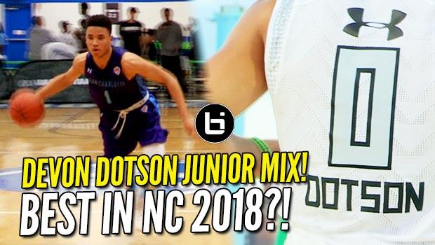 Is Devon Dotson the #HoopState's Next Best Point Guard?! Junior Year Mixtape!
