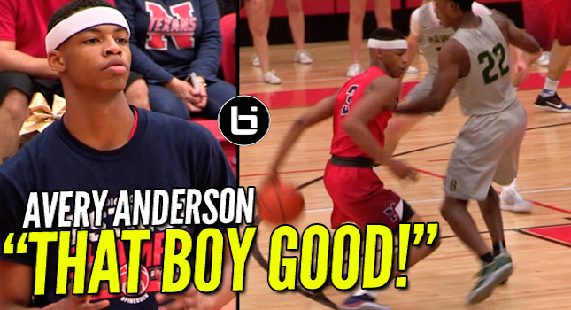 10th Grader Avery Anderson GOES OFF IN The Playoffs! 36Pts 9Ast 6 Rebs Full Highlights