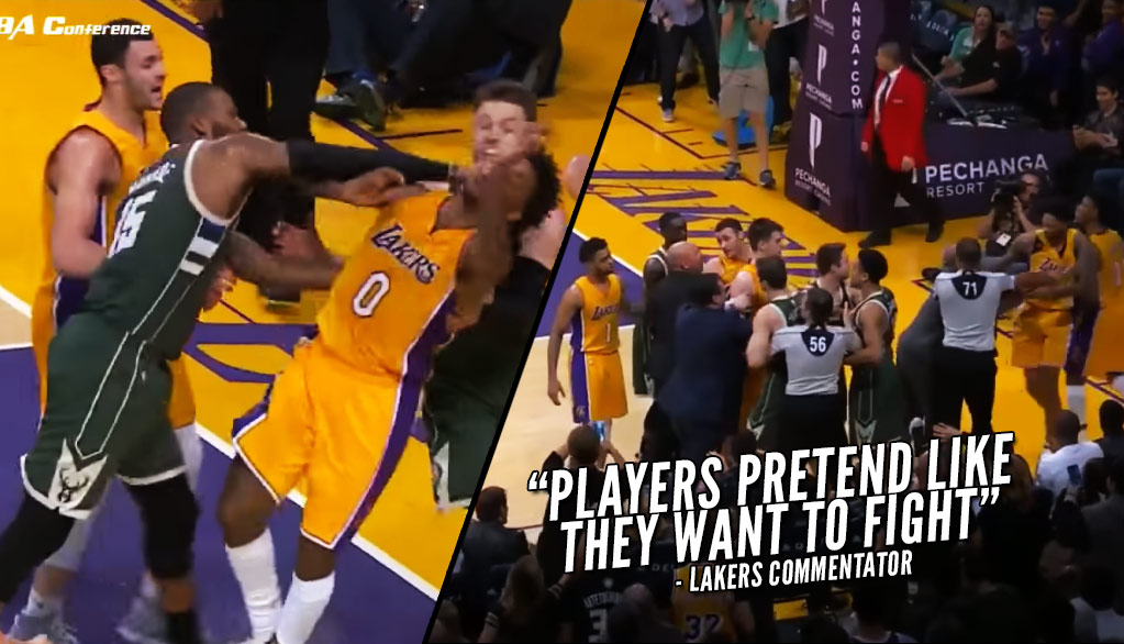Top 5 Funniest Things About The Lakers & Bucks Scuffle & Ejections