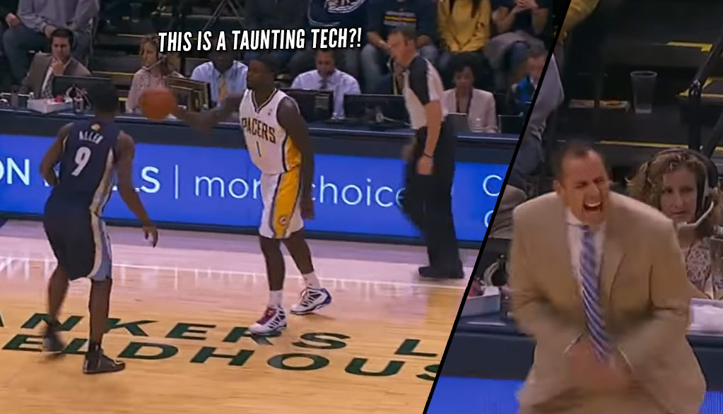 Lance Stephenson's First Triple-Double & Ridiculous Taunting Tech
