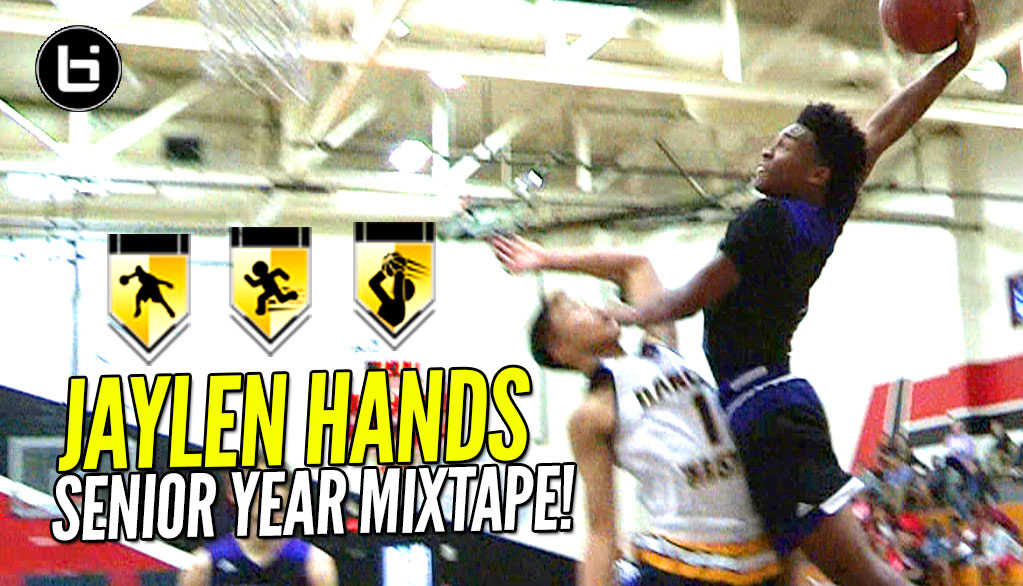 Jaylen Hands Is The NEXT Great UCLA Point Guard! OFFICIAL Senior Year Mixtape!
