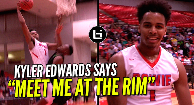 Kyler Edwards Catches A Body! Drops 30Pts In The Playoffs
