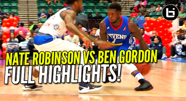 Nate Robinson Vs Ben Gordon! D-League Matchup Full Highlights