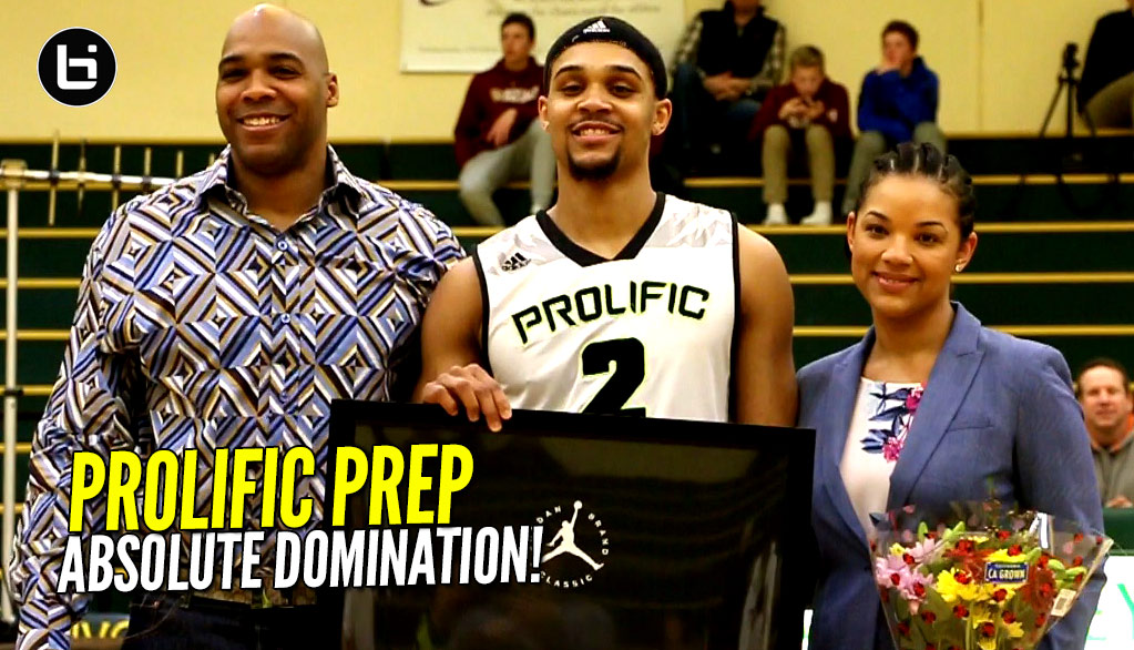 #1 SG Gary Trent Jr & Prolific Prep DOMINATE On Senior Night! All Access Full Highlights!