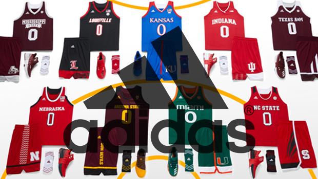 adidas Unveils School Pride Basketball Uniforms for 2017 NCAA Postseason