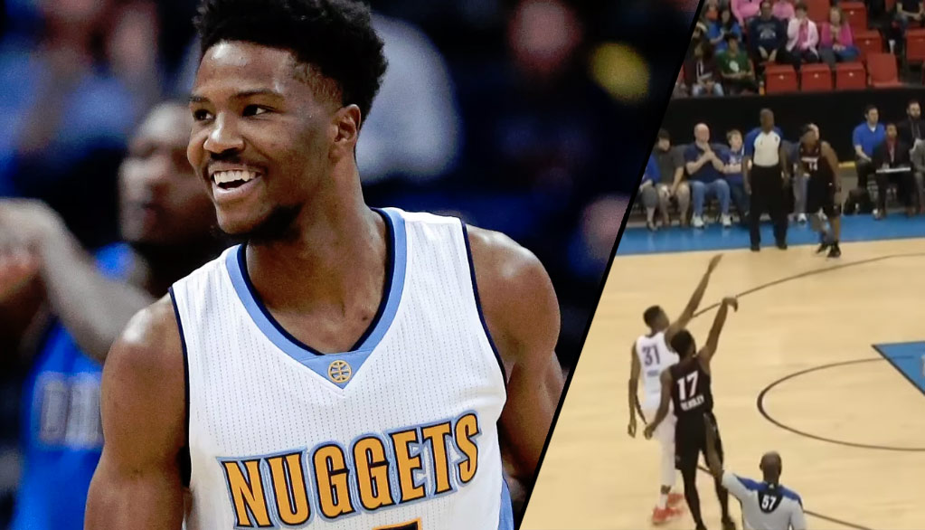 Nuggets Rookie Malik Beasley Puts Up 32 Points, 19 Boards, 7 Assists In D-League Game