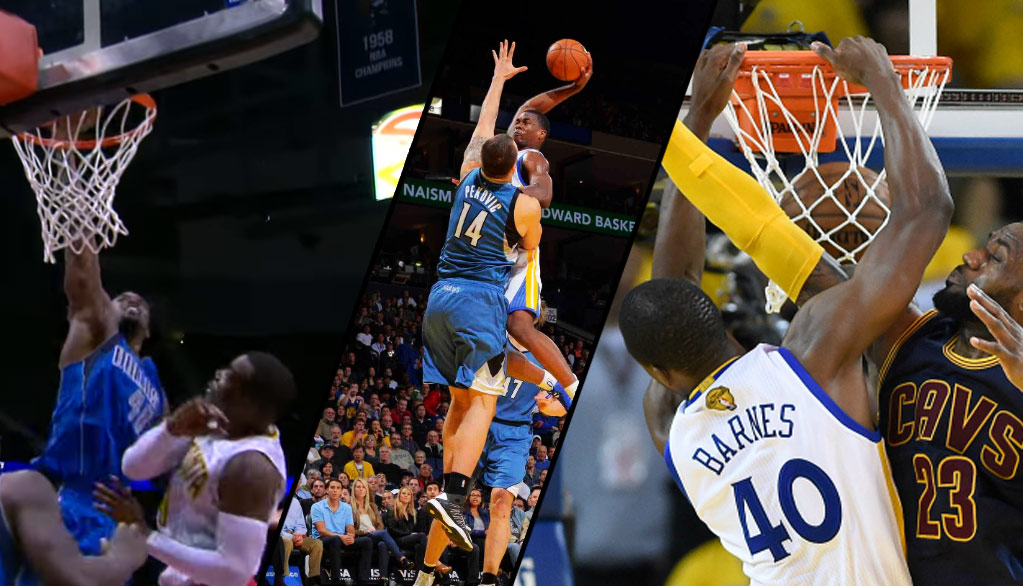 Harrison Barnes' Dunk On Millsap Brought Back Memories Of The Black Falcon!