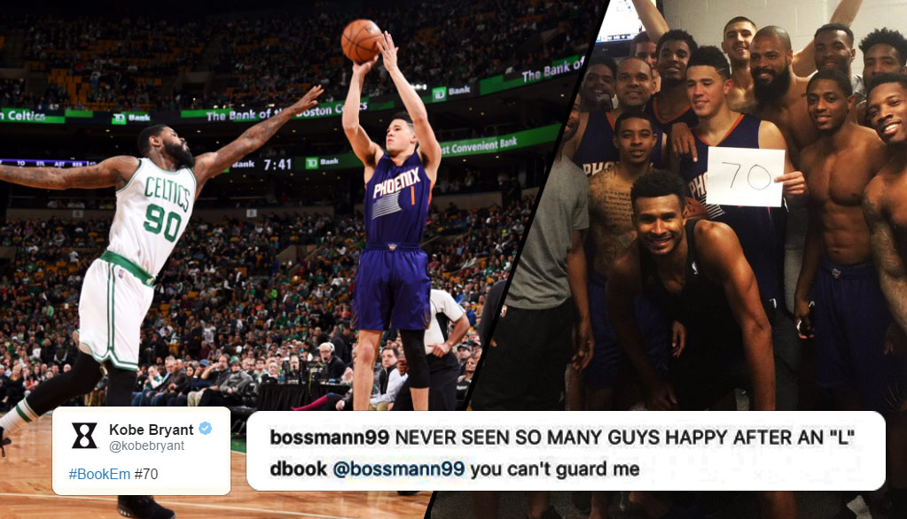 NBA Reacts To Devin Booker Scoring 70 On The Celtics