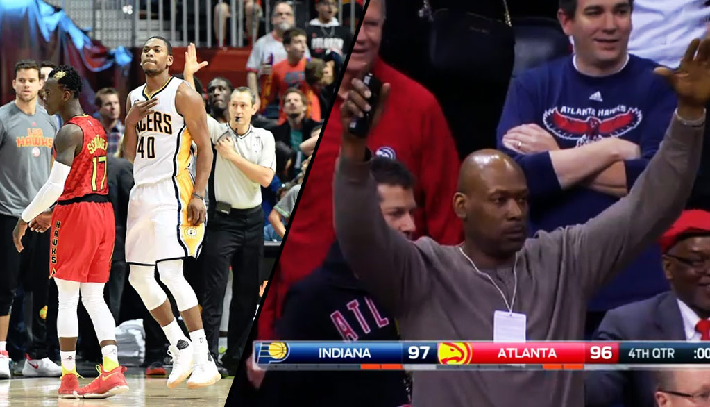 Dunk Champ Glenn Robinson III Makes Game-Winning 3-Pointer In Front Of His Dad