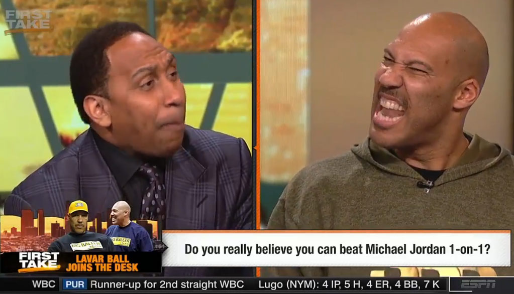 16 Minutes of Stephen A. Smith & LaVar Ball Going At It On First Take