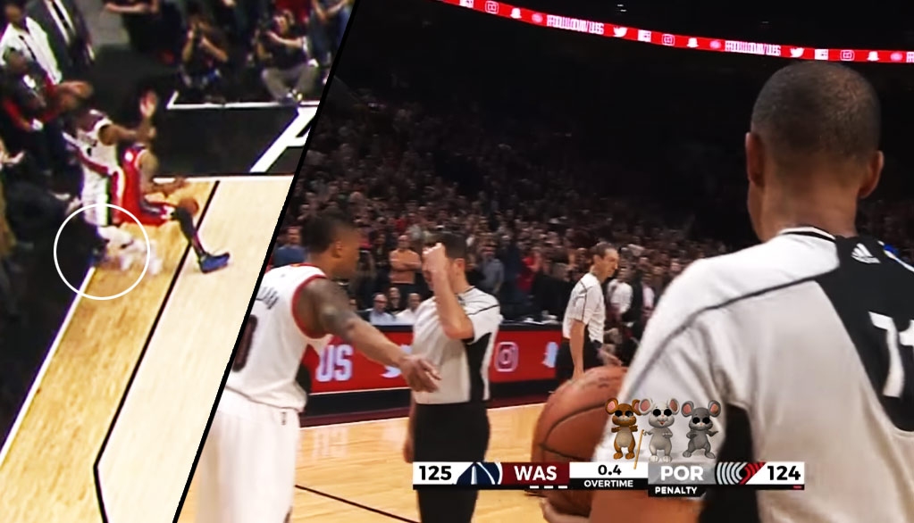 Markieff Morris Hits OT Game-Winner But Stepped Out Of Bounds & The Refs Can't Review It?!