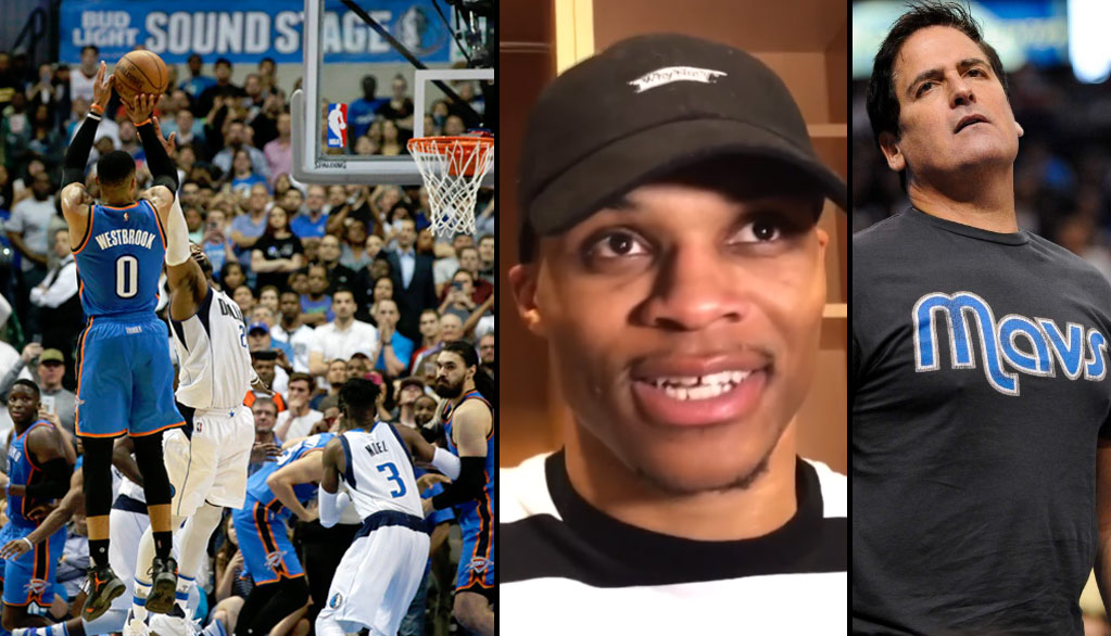 Russell Westbrook Responds to Mark Cuban Saying He's Not A Superstar With 37/13/10 & The Game-Winner