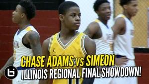 Chase Adams vs Simeon | Ballislife.com