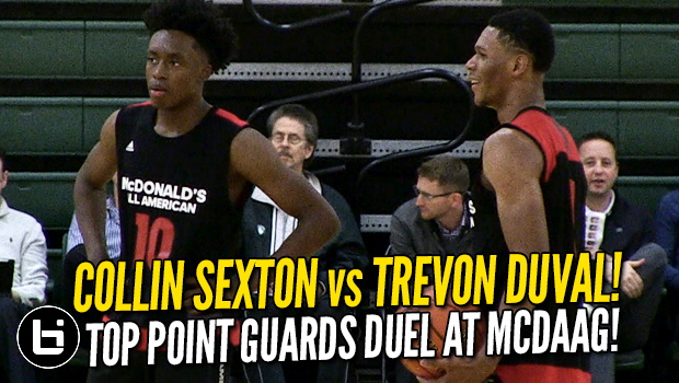 Collin Sexton vs Trevon Duval! Full Highlights McDonald's All American Practice!