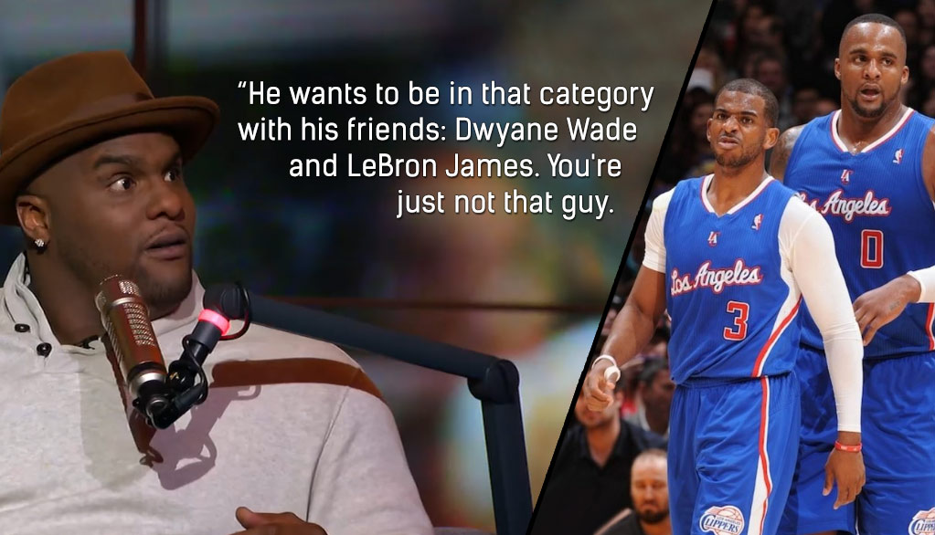 Big Baby Davis Roasted CP3 And A Few Former Clippers Teammates On 'The Herd'