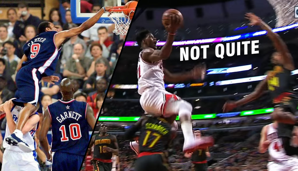 Jimmy Butler Jumped Over Dennis Schroder And The Refs Called A Blocking Foul?