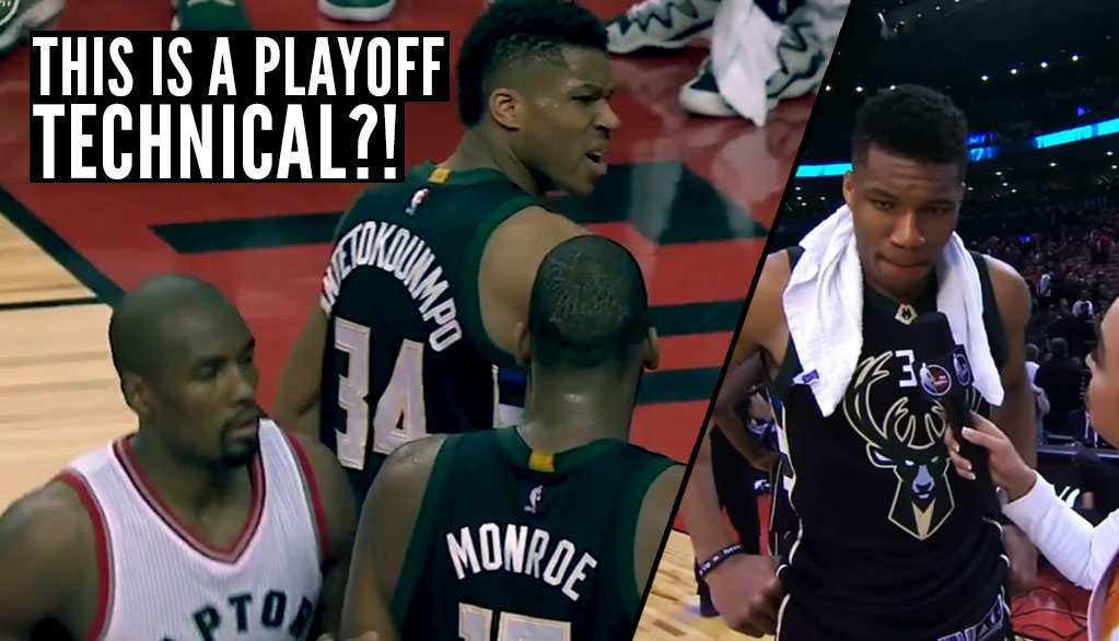 Giannis Antetokounmpo Compliments Refs After Ridiculous Tech Call