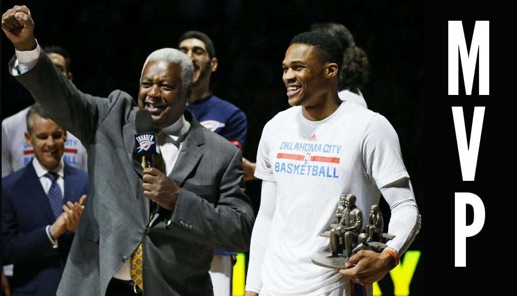 Oscar Robertson Honors Russell Westbrook, Yells MVP!