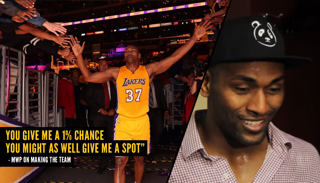 Metta World Peace Emotional Interview After Scoring 18 2nd Half Points, Lakers 5th Straight Win