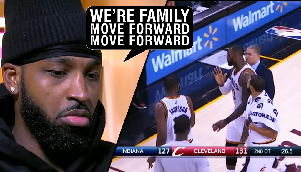 LeBron Apologizes For Heated Argument With Tristan Thompson During Double OT Vs Pacers