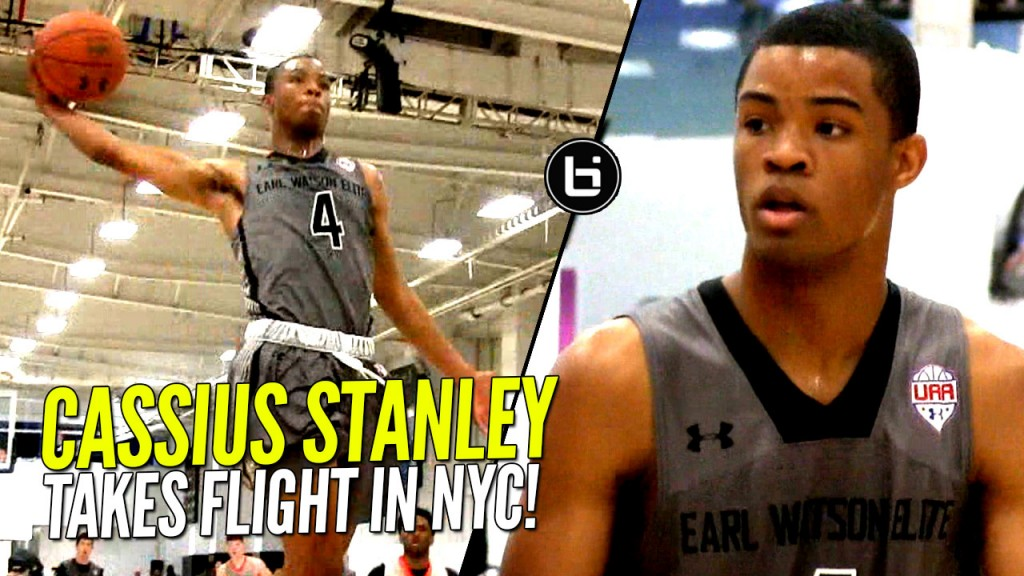 Cassius Stanley Takes His Talent To UAA!! NY Session Highlights!