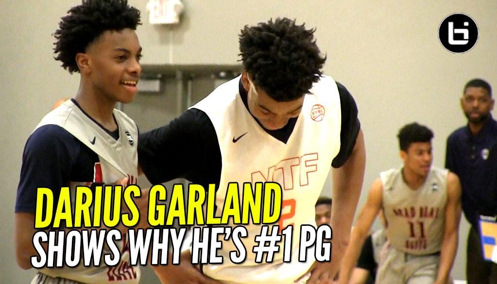 #1 PG Darius Garland Puts Team On His Back! Brad Beal Elite vs Nike Team Florida Highlights!