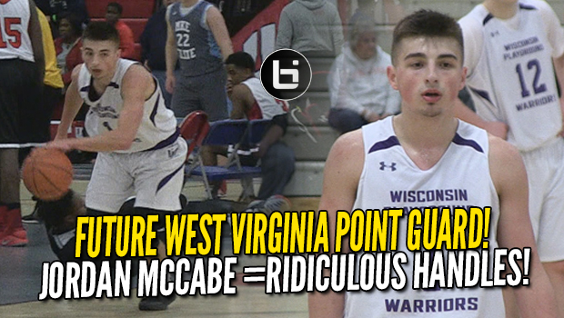 Jordan McCabe Has More Than Just THE BEST Handles in HS! Future WVU PG Highlights NY2LA!