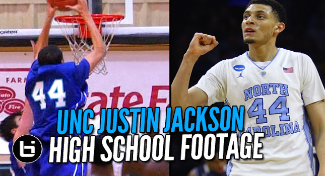 UNC Justin Jackson Returns To The Final Four! Ballislife High School Footage.