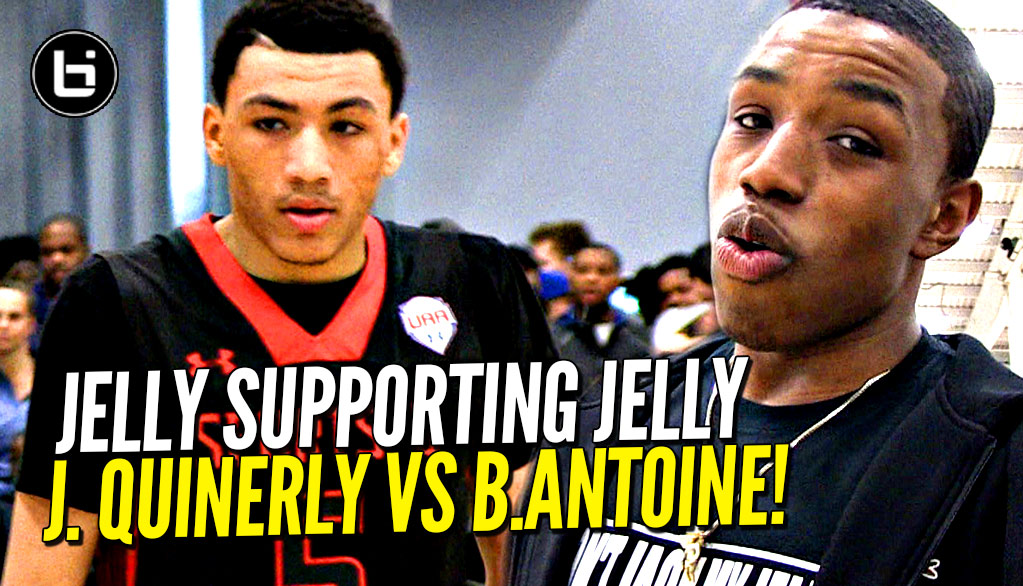 Jelly Supports Jelly! Jahvon Quinerly vs Bryan Antoine UAA Highlights!