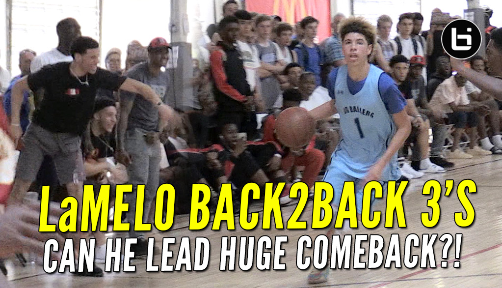Down At The Half Again, Can LaMelo Lead Comeback?!