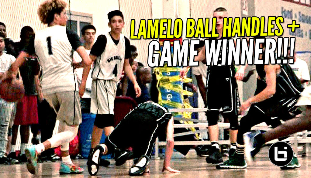 LaMelo Ball EXTRA SAUCY Today & Hits GAME WINNER w/ Lonzo & LiAngelo Watching!