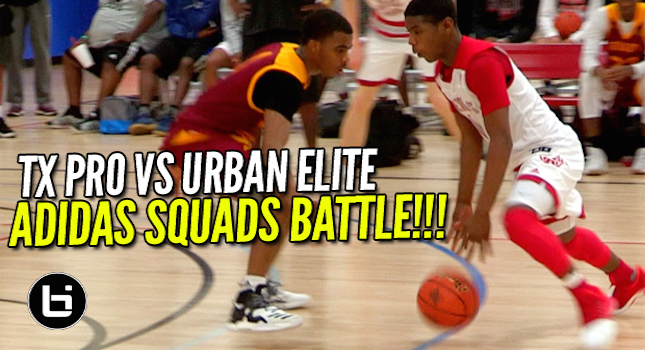 Urban Elite Vs Tx Pro! Adidas Uprising Teams Battle In Great American Shootout!