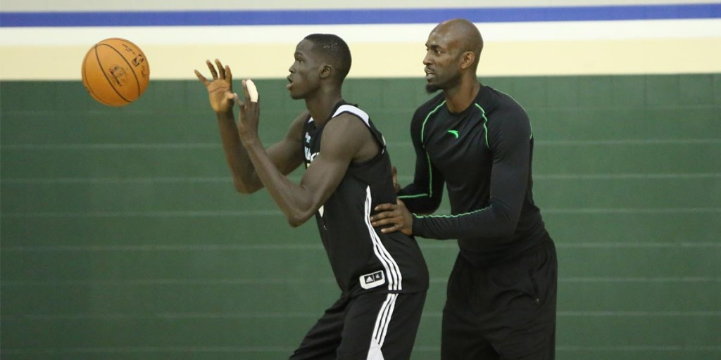 Kevin Garnett Thinks Thon Maker Will Be MVP One Day