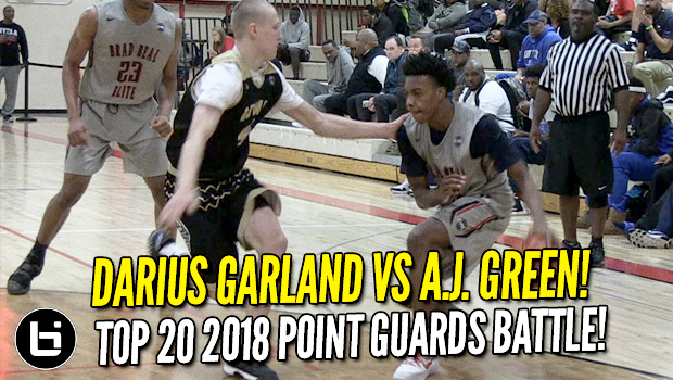 Darius Garland vs A.J. Green! Point Guards Battle! Full Highlights!