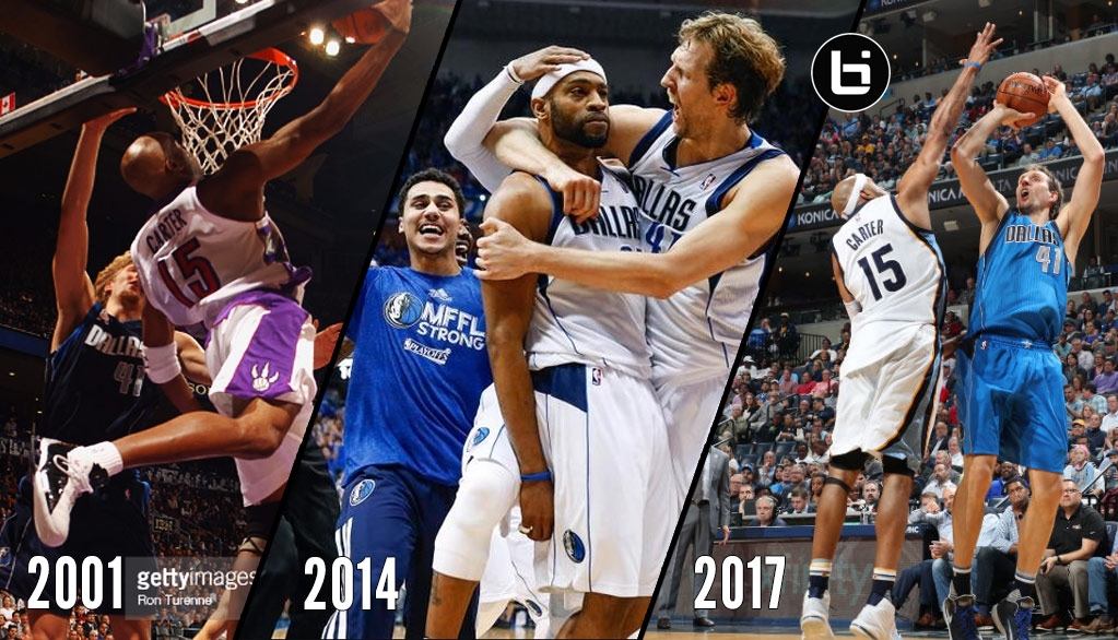 Vince Carter's Block On Dirk's Fadeaway Brought Back A Lot Of Memories