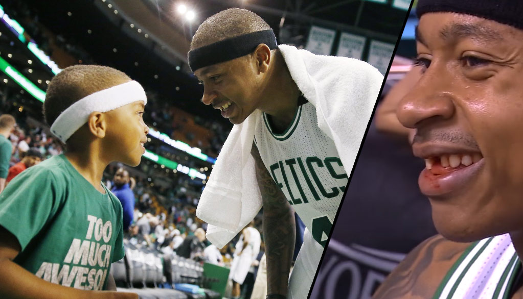 Isaiah Thomas Loses Tooth Then Knocks Down Back-To-Back Threes, Sparks Comeback vs Wizards