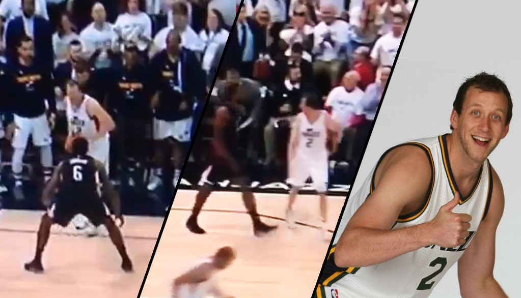 Cold-Blooded Joe Ingles Waits For DJ, Hits A 3, Then Stares Back At Him