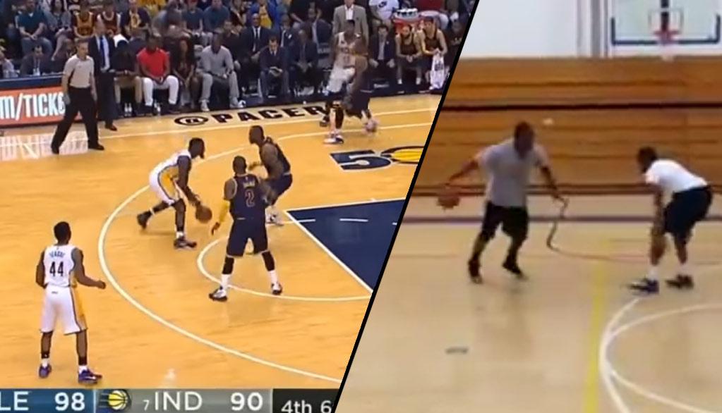 Lance Stephenson's Unsuccessful Crossover Attempts On LeBron Reminded Us Of One Of Our Favorite Videos
