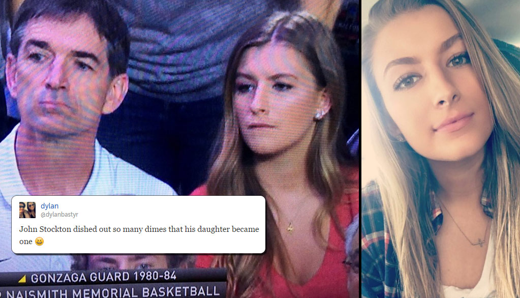Funniest Tweets About The Internet Falling In Love With John Stockton's Daughter