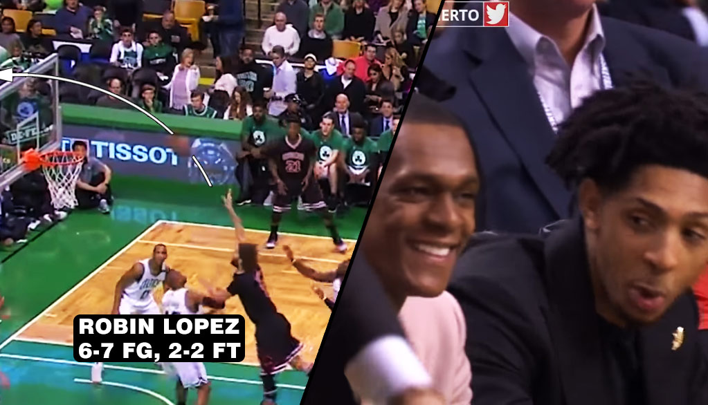 Robin Lopez's Only Miss In GM5 Was The Worst (& Funniest) Miss Of The Game