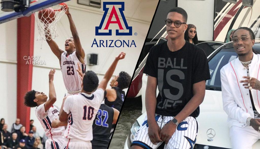 Class of 2018 Star Shareef O'Neal Commits To University Of Arizona