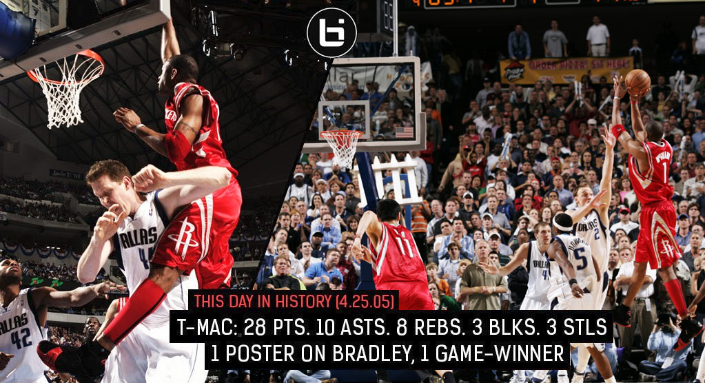 Remembering Tracy McGrady's Dunk On Shawn Bradley & Forgotten Game-Winner In The Same Game