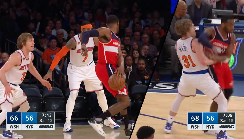 John Wall Put On A Fancy Dribbling & Passing Display For Ron Baker