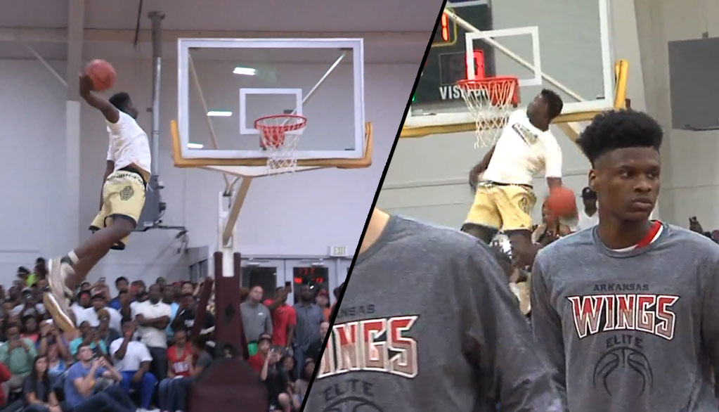 Zion Williamson Scores 47, Goes Viral With Dunk Exhibition At Real Deal In The Rock Event