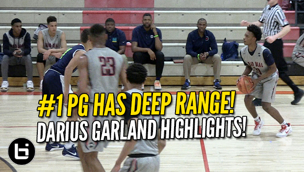 Darius Garland Has DEEP Range! #1 PG Class of 2018 Full Highlights!