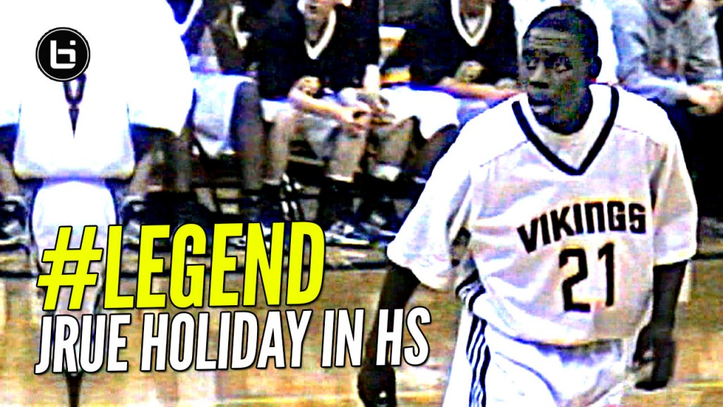Jrue Holiday Was a LEGEND In High School! 70 Point Lead & Didn't Let Opponents Get Past Half-Court Line!