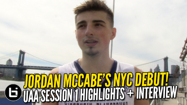 Jordan McCabe Dropping Dimes All Over NYC! UAA Highlights + Interview